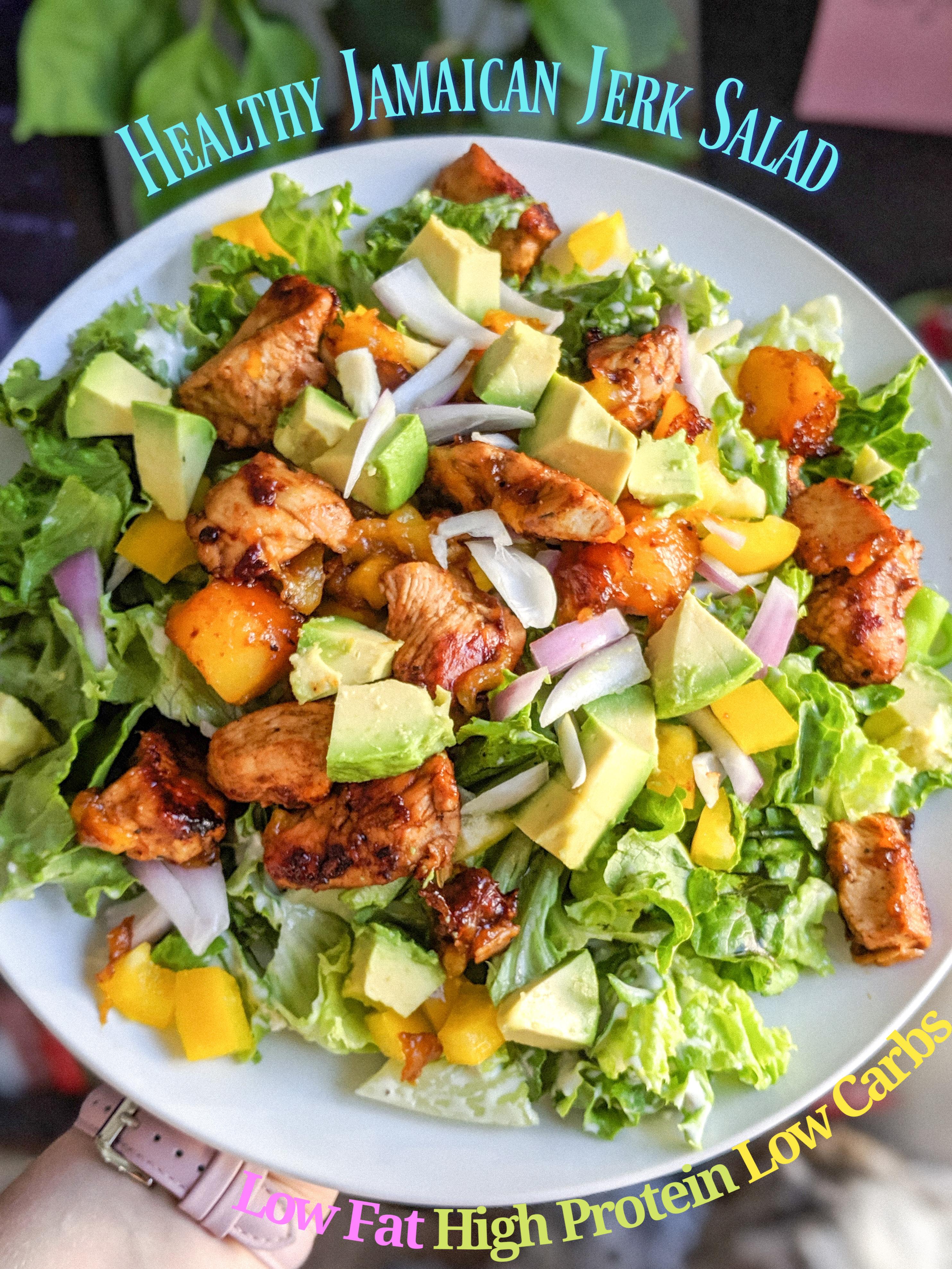 Jamaican Jerk Salad For The Jerk In You Britt S Caffeinated Chronicles
